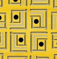 Eccotone Acoustic Wood Panel - Pagoda Detail