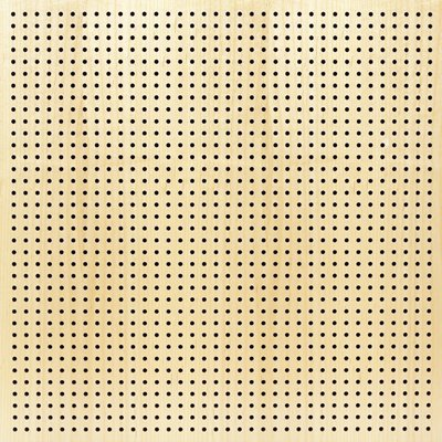 Eccotone Acoustic Wood Panel - Perforated 6 Clear Maple Finish