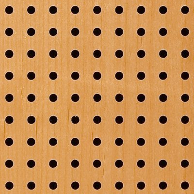 Eccotone Acoustic Wood Panel - Perforated 6 Detail