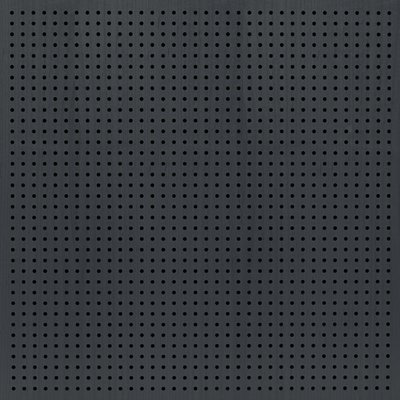 Eccotone Acoustic Wood Panel - Perforated 6 Ebony Finish