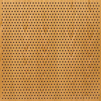 Eccotone Acoustic Wood Panel - Perforated 6 Staggered