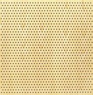 Eccotone Acoustic Wood Panel - Perforated 6 Staggered Clear Maple Finish