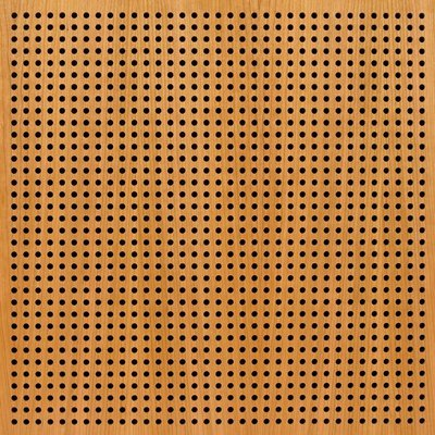 Eccotone Acoustic Wood Panel - Perforated 8