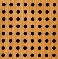Eccotone Acoustic Wood Panel - Perforated 8 Detail