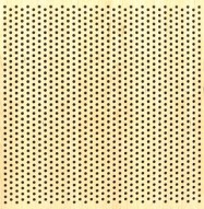 Eccotone Acoustic Wood Panel - Perforated 8 Staggered Clear Maple Finish
