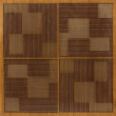 Eccotone Acoustic Wood Panel - Pixelation