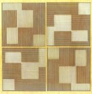 Eccotone Acoustic Wood Panel - Pixelation Clear Maple Finish