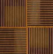 Eccotone Acoustic Wood Panel - Pixelation Detail