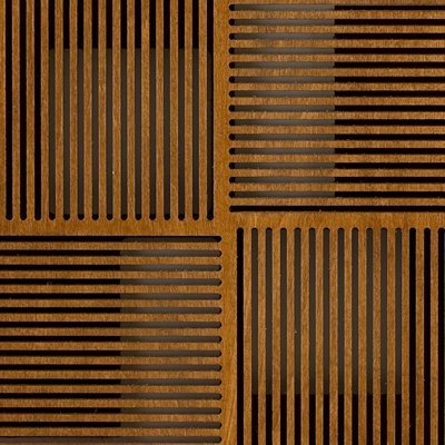 Eccotone Acoustic Wood Panel - Pixelation Detail