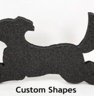Quiet Board Acoustic Panel Custom Shapes Available