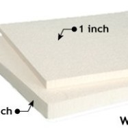 Quiet Board Acoustic Panel White 1 and 2 inch