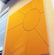 Sunburst Acoustic Panel