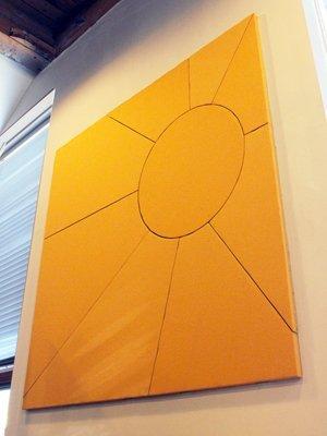 Sunburst Acoustic Panel