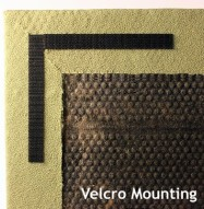 Acoustic Panel Velcro Mount