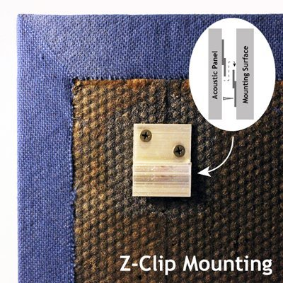 Acoustic Panel Z-Clip Mount