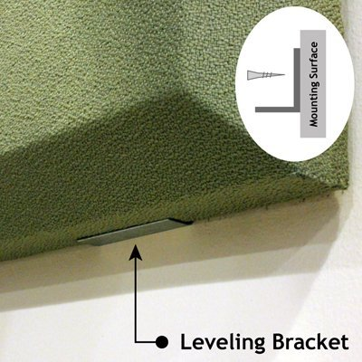 Acoustic Panel Level Bracket