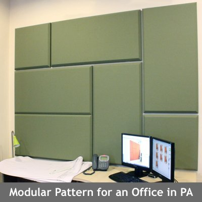 Modular Acoustic Panel Office