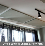 Acoustic Panel Ceiling Install