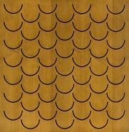 Eccotone Acoustic Wood Panel - Pesce Autumn Wheat Finish