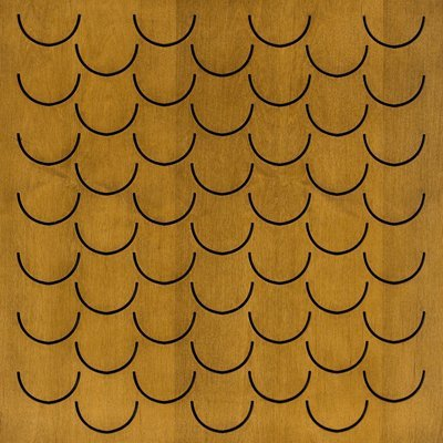 Eccotone Acoustic Wood Panel - Pesce Autumn Wheat Finish