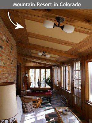 Acoustic Panel Mountain Lodge