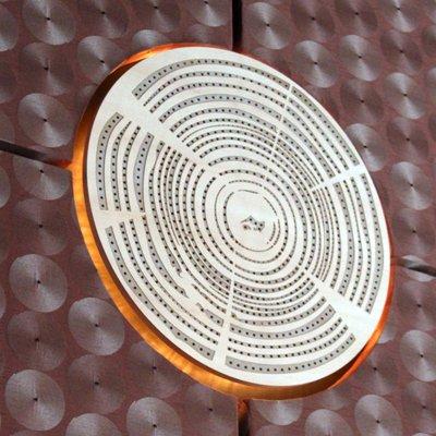 Acoustic Wood Panel - Custom Circular
