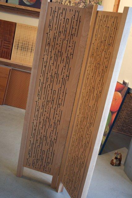 Acoustic Wood Partition - 2 Panels