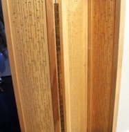 Acoustic Wood Partition - 3 Panels