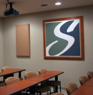 Art Acoustic Panel Corporate Logo