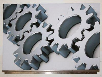 Art Acoustic Panel Gears