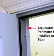 Door Soundproofing Adjustable Perimeter Seal Install