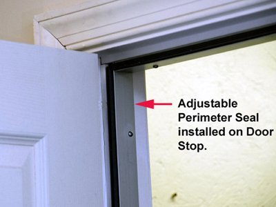 Charming Door Soundproofing Adjustable Perimeter Seal Install ...