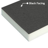 Black Faced Fire Rated Acoustic Foam