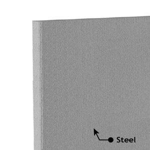 Acoustic Foam Panel Steel