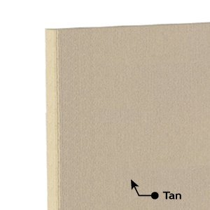 Acoustic Foam Panel Tan