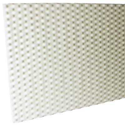 1 inch White Fire Rated Anechoic Acoustic Foam
