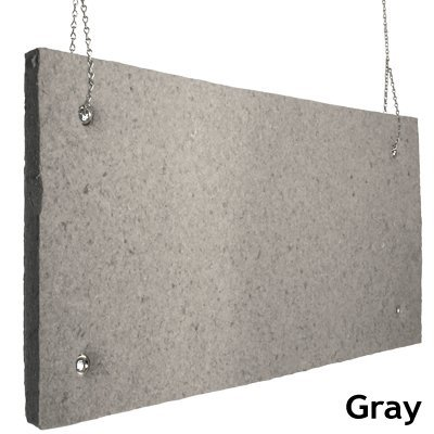 Echo Absorber Acoustic Baffle 2 inch Gray