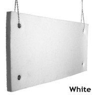 Echo Absorber Acoustic Baffle 2 inch White