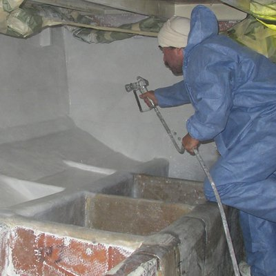 Sound Deadening Spray Application