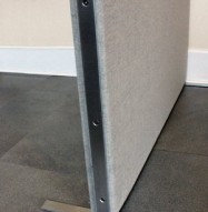 Soundproofing Partition Leg Detail
