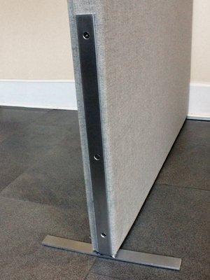 Soundproofing Partition Leg Detail