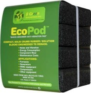 Soundproofing Ecopod 4 per Pack