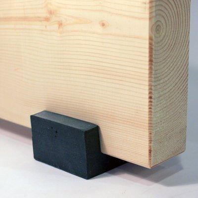 Soundproofing Floor Joist Isolator Install