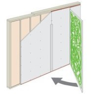 Soundproofing Glue Wall Application