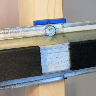 Isotrax Soundproofing Connection