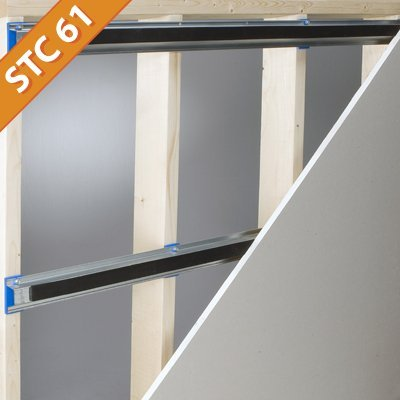 Isotrax Soundproofing Isolation System Shop Soundproof Cow