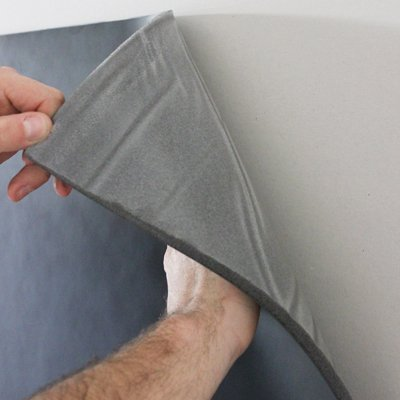 Quiet Barrier Ld Soundproofing Composite With Pressure Sensitive Adhesive Soundproof Cow