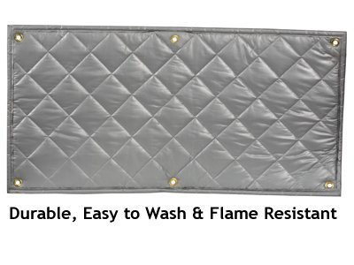 Soundproofing Quiet Barrier Quilt Flame Resistant