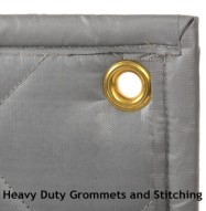 Soundproofing Quiet Barrier Quilt Detail Grommet