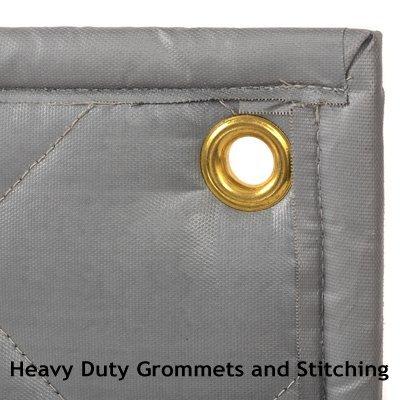Soundproofing Quiet Barrier Quilt Detail Grommet